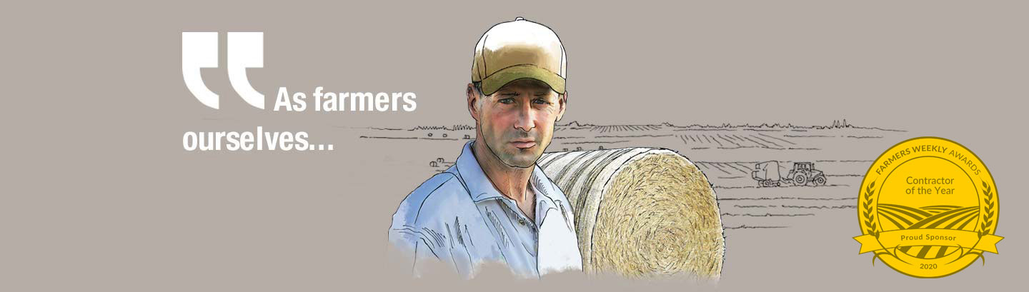 As farmers ourselves...