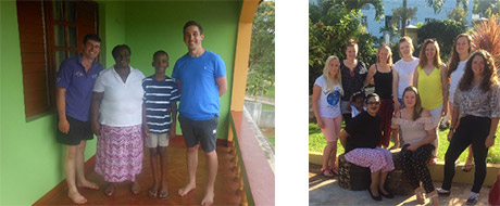 our jamaican host family