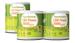 TamaTwine Plus LSB Power 2800 Pack & LSB Power XL 1650 Spool