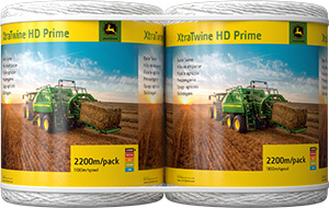 JD XtraTwine HD Prime 2200m pack white