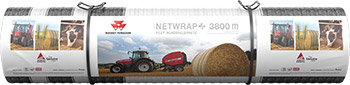 Massey Ferguson Netwrap Plus 3800m Roll