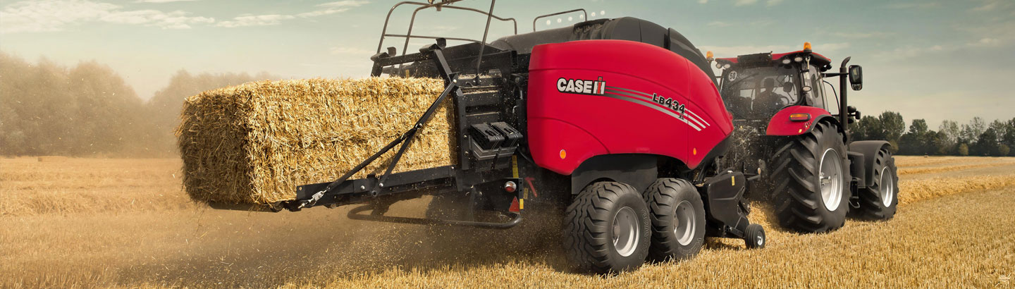 Case IH for Large Square Bales