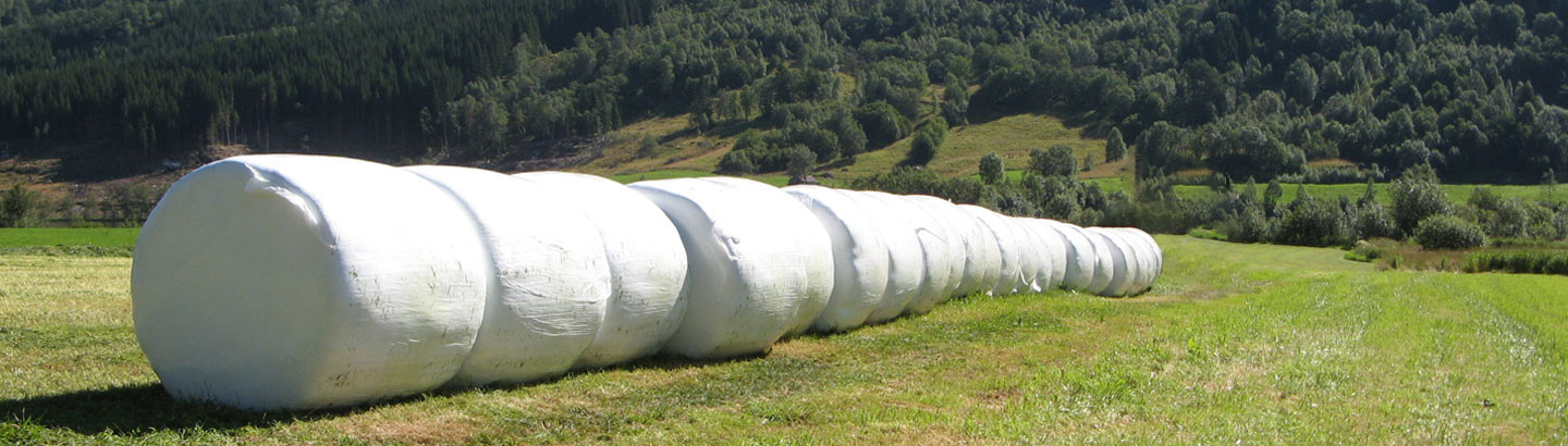 AGCO parts stretchfilm for silage bales