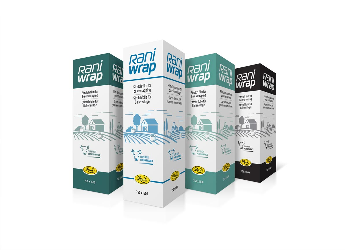RaniWrap Packaging White