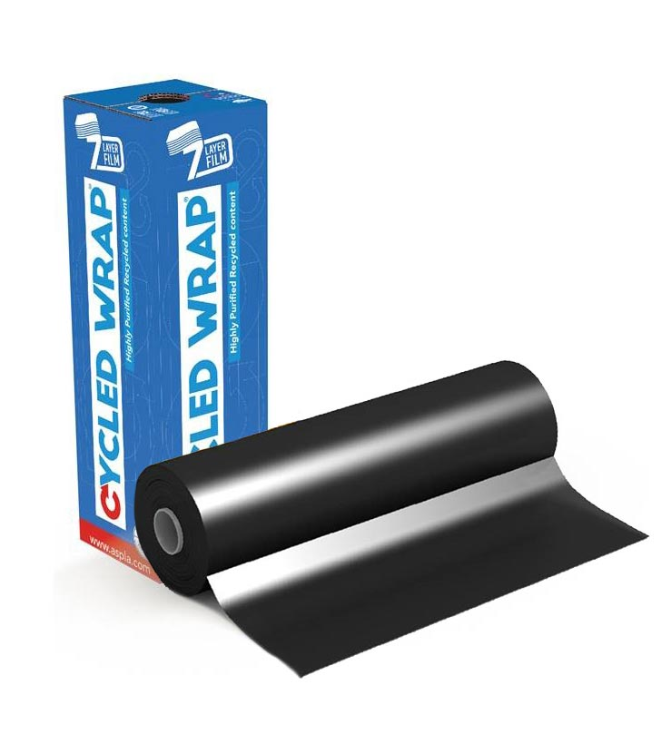 CycledWrap Stretchfilm black