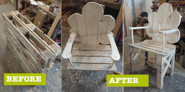 Wooden Seat YFC